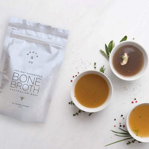 Single Serve Variety Pack Bone Broth Powder | Broth&Co Wholesale | Good Food Warehouse