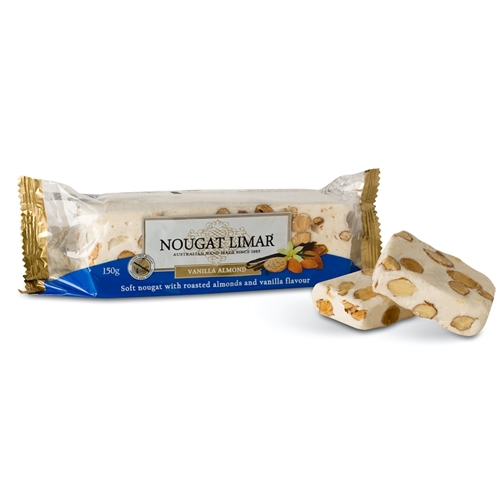 Wholesale 150g Vanilla Almond - Nougat Limar Orders Dispatched direct from Supplier. Free Delivery Australia Wide.