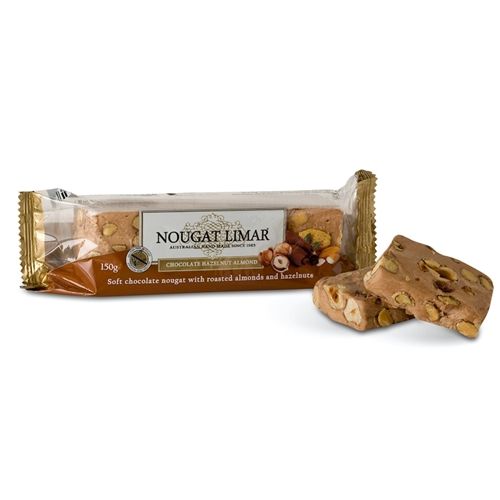 Wholesale 150g Nougat Limar - Chocolate Almond Hazelnut Orders Dispatched direct from Supplier. Free Delivery Australia Wide.