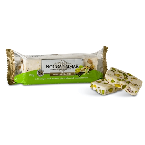 Wholesale 150g - Vanilla Pistachio - Nougat Limar Orders Dispatched direct from Supplier. Free Delivery Australia Wide.