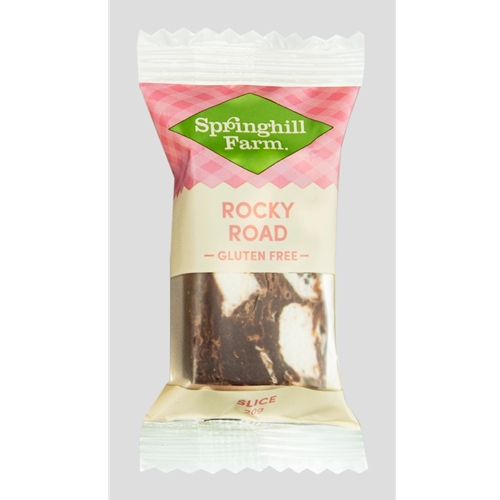 Wholesale Gluten Free Rocky Road Bite Orders Dispatched Fresh from Springhill Farm in Ballarat. Free Delivery Australia Wide.