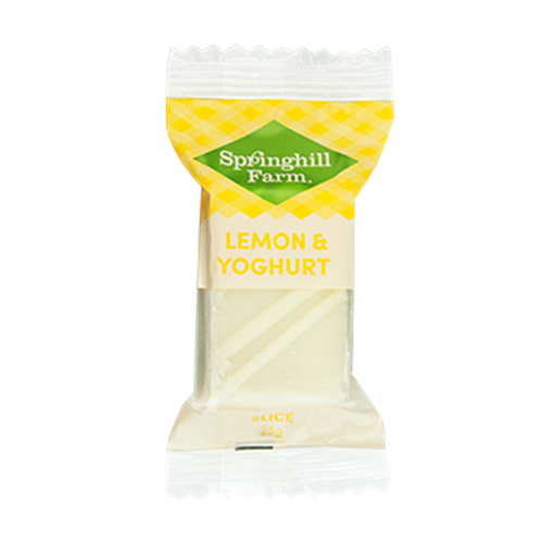 Wholesale Lemon Yogurt Bite Orders Dispatched Fresh from Springhill Farm in Ballarat. Free Delivery Australia Wide.