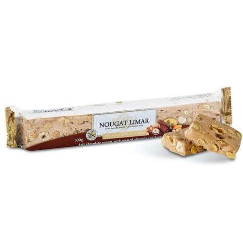 Wholesale 300g - Chocolate Almond Hazelnut - Nougat Limar Orders Dispatched direct from Supplier. Free Delivery Australia Wide.