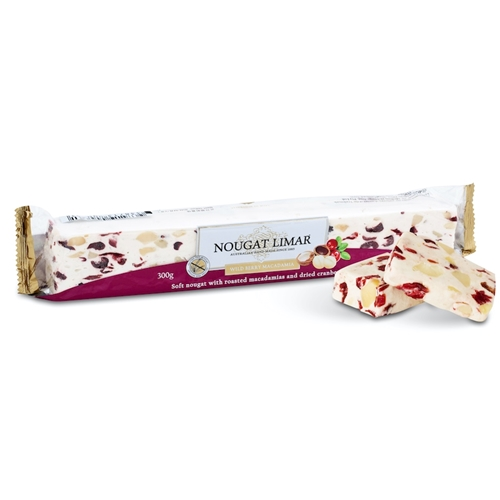Wholesale 300g - Wild Berry Macadamia - Nougat Limar Orders Dispatched direct from Supplier. Free Delivery Australia Wide.