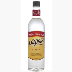 Wholesale Syrup 750ml - White Chocolate - DaVinci Gourmet (1x750ml) Orders Dispatched direct from Supplier. Free Delivery Australia Wide.