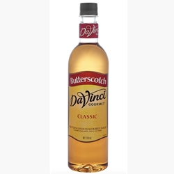 Wholesale Syrup 750ml - Butterscotch - DaVinci Gourmet (1x750ml) Orders Dispatched direct from Supplier. Free Delivery Australia Wide.