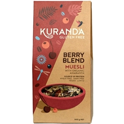 Order 500g Catering Muesli Gluten Free Berry Blend Wholesale Online Good Food Warehouse.