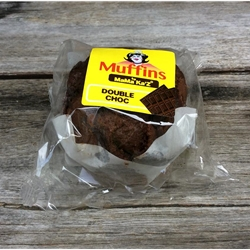 Wholesale Wrapped Muffins 170g - Double Chocolate - MaMa Kaz Orders Dispatched direct from Supplier. Free Delivery Australia Wide.