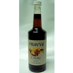 Organic Syrup 750ml - Chai - Cravve (1x750ml)