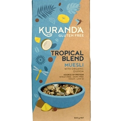 Order Wholesale Kuranda 500kg Tropical Blend Nut Free Muesli. Order Online Distributor Good Food Warehouse.