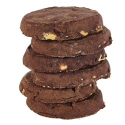 Unwrapped Cafe Cookie 60g - Triple Choc Fudge - Byron Bay Cookies (6x60g)