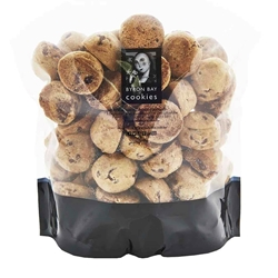 Buy Byron Bay Cookies Online | Bitesize Milk Choc Baby Buttons | Good Food Warehouse