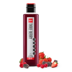 Wholesale Pulp Fruit Syrup 1ltr - Three Berry - SHOTT Beverages Orders Dispatched direct from Supplier. Free Delivery Australia Wide.