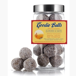 Almond & Date Health Balls | Goodie Balls Wholesale | Good Food Warehouse