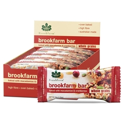 Brookfarm Toasted Mac Muesli Bars
