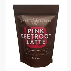 Order Wholesale Online Urban Blends 500g Pink Beetroot Latte. Good Food Warehouse.