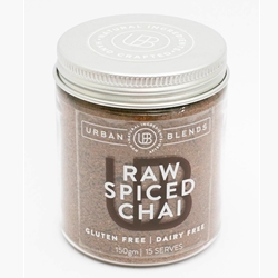 Order Wholesale Online Urban Blends 150g Raw Spiced Chai Jar. Good Food Warehouse.