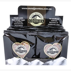 50g Love Chocolate Snowy Mountain Cookie