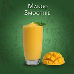 Mango Yogurt Smoothie Art of Blend