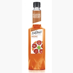 Wholesale Syrup 750ml - Hazelnut - DaVinci Gourmet (1x750ml) Orders Dispatched direct from Supplier. Free Delivery Australia Wide.