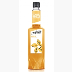 Wholesale Syrup 750ml - Vanilla - DaVinci Gourmet (1x750ml) Orders Dispatched direct from Supplier. Free Delivery Australia Wide.