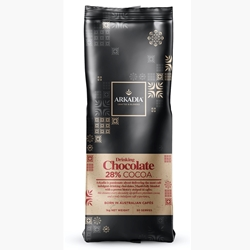 Arkadia 28 Percent Cocoa Drinking Chocolate Powder