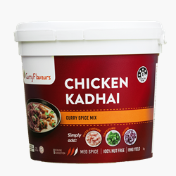 Spice Mix 1kg - Chicken kadhai Curry - Curry Flavours (1x1kg)