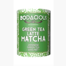 Bodacious Matcha Green Tea Latte