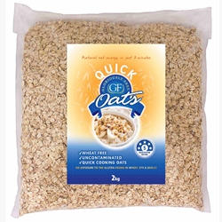 Bulk Gluten Friendly Oats 2kg