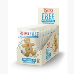 Kezs Kitchen Gluten Free Gingerbread Man - Good Food Warehouse