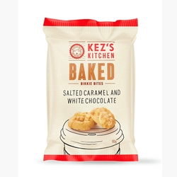 80g Salted Caramel Kezs Kitchen Bikkie Bites - Good Food Warehouse