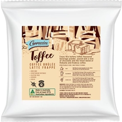 Cappuccine - Toffee Coffee Bruless Powder - Good Food Warehouse