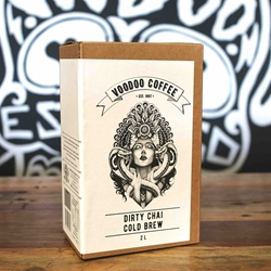 Dirty Chai Cold Brew Coffee | Voodoo Coffee Wholesale | Good Food Warehouse