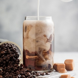 Caramel Iced Coffee | Shott Beverages Coffee Syrups | Good Food Warehouse