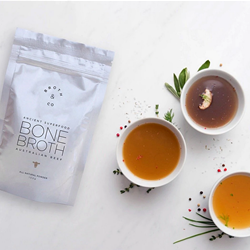 Grass Fed Bone Broth Powder | Broth&Co Wholesale | Good Food Warehouse
