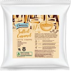 Salted Caramel Latte Powder | Cappuccine Australia | Good Food Warehouse