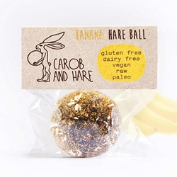 Banana Health Balls | Carob & Hare Cafe Balls | Good Food Warehouse