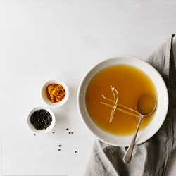 Single Serve Chickpea Miso Bone Broth Powder | Broth&Co Wholesale | Good Food Warehouse